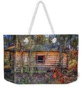 Abandoned Log Cabin Weekender Tote Bag