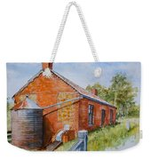 Abandoned Red Brick Cottage Near Maldon Weekender Tote Bag