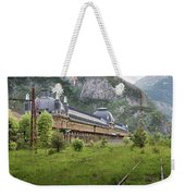 Abandoned Side Of The Canfranc International Railway Station Weekender Tote Bag
