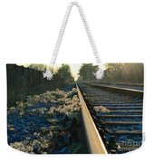 Abandoned Tracks Weekender Tote Bag