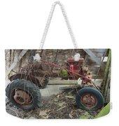 Abandoned Tractor Weekender Tote Bag