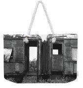 Abandoned Train Cars B Weekender Tote Bag