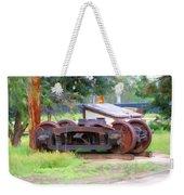 Abandoned Wheels Weekender Tote Bag