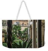 Abbey Garden Weekender Tote Bag