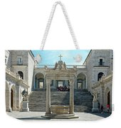Abbey Of Montecassino Courtyard Weekender Tote Bag
