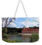 Abbey Weltenburg And Danube River Weekender Tote Bag