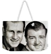 Abbott And Costello Weekender Tote Bag