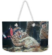 Abbott And Costello Meet Frankenstein Weekender Tote Bag