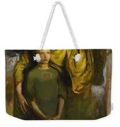 Abbott Handerson Thayer 1849 - 1921 Boy And Angel Weekender Tote Bag