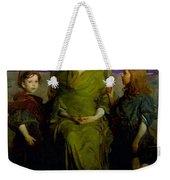 Abbott Handerson Thayer - Mother And Children Weekender Tote Bag