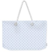 Abby Damask With A White Background 18-p0113 Weekender Tote Bag