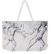 Abduction Of A Woman Rape Of The Sabine Women 1495 Weekender Tote Bag