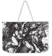 Abduction Of Proserpine On A Unicorn 1516 Weekender Tote Bag