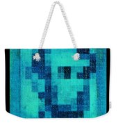 Abe In Aqua Weekender Tote Bag