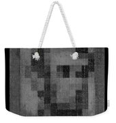Abe In Black And White Weekender Tote Bag