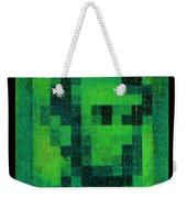 Abe In Green Weekender Tote Bag