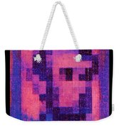 Abe In Hot Pink  Weekender Tote Bag