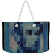 Abe In Light Blue Weekender Tote Bag