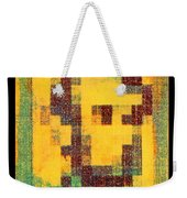 Abe In Yellow Weekender Tote Bag
