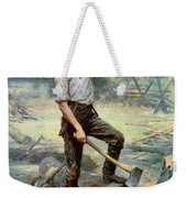 Abe Lincoln The Rail Splitter  Weekender Tote Bag