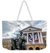 Abe On Bascom Hill Weekender Tote Bag