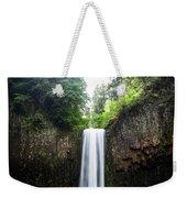 Abiqua Falls 2 Weekender Tote Bag