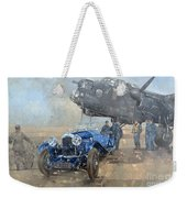 Able Mable And The Blue Lagonda  Weekender Tote Bag