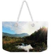 Abol Mt And Round Pond Weekender Tote Bag