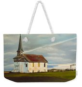 Abondoned Church Weekender Tote Bag