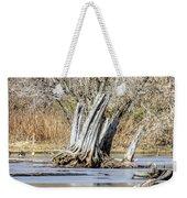 Aboriginal Stumps Weekender Tote Bag