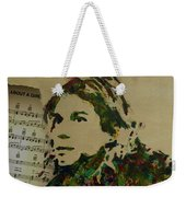 About A Girl Weekender Tote Bag