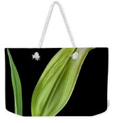 White Oriental Lily About To Bloom Weekender Tote Bag