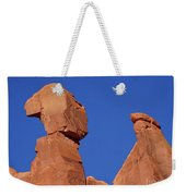About To Topple Weekender Tote Bag