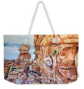 Above Canyonlands Campground Weekender Tote Bag