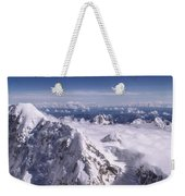 Above Denali Weekender Tote Bag