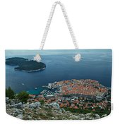 Above Dubrovnik - Croatia Weekender Tote Bag