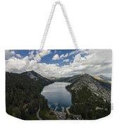Above Echo Lake Weekender Tote Bag