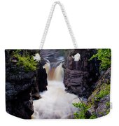 Above The Cauldron Weekender Tote Bag