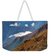 Above The Clouds In The Andes Weekender Tote Bag