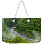 Above The River Weekender Tote Bag