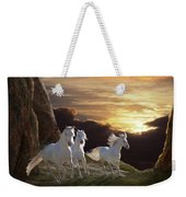 Above The Storm Weekender Tote Bag