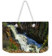 Above Undine Falls Weekender Tote Bag