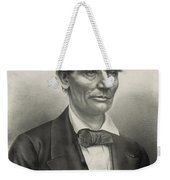 Abraham Lincoln - As A Presidential Candidate Weekender Tote Bag