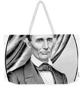 Abraham Lincoln Circa 1860 Weekender Tote Bag by War Is Hell Store