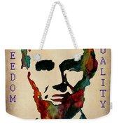 Abraham Lincoln Leader Qualities Weekender Tote Bag