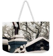 Abraham Lincoln Memorial Scotland Winter Weekender Tote Bag
