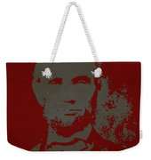 Abraham Lincoln The American President  Weekender Tote Bag