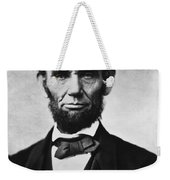 Abraham Lincoln Weekender Tote Bag by War Is Hell Store