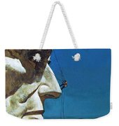 Abraham Lincoln's Nose On The Mount Rushmore National Memorial  Weekender Tote Bag