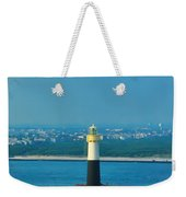 Absecon Lighthouse Atlantic City Weekender Tote Bag by Bill Cannon